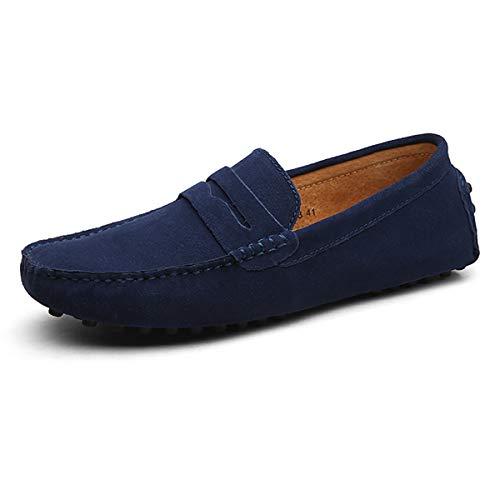 Mocassins en Cuir Suede pour Homme Chaussures de Bateau...