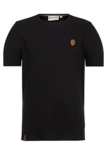 Naketano Male T-Shirt Bumsebumse Shirt Black, M