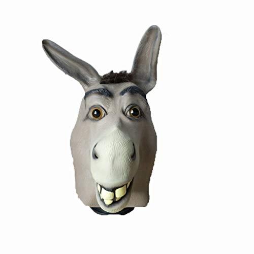 WYXMJ Buttercup Mask Halloween Horror Cos Lustige Pferdekopf Drama Performance - Buttercup Kostüm