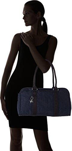 Kipling - Bex, Borse a secchiello Donna Blu (Deepest Blue)