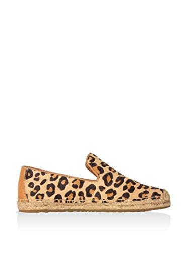 UGG Australia  Sandrinne Calf Hair, Chaussures de ville à lacets pour femme - marron - léopard, EU chestnut leopard