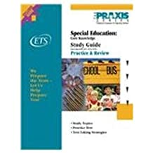 Special Education: Core Knowledge: Core Knowledge Study Guide (Praxis Study Guides)