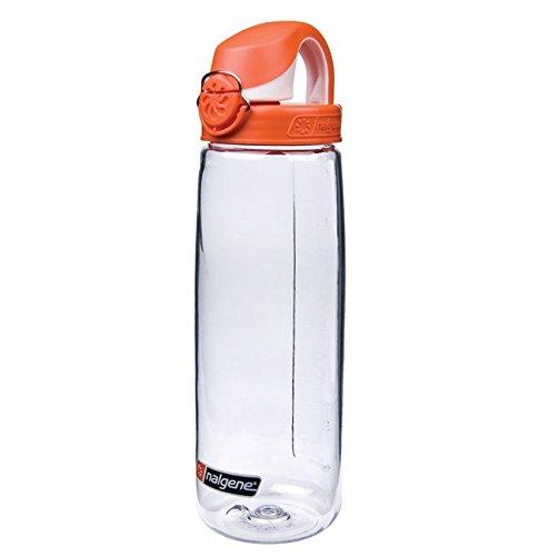 Nalgene OTF roasted orange/clear 0,65l Einhand-Druckverschluß -