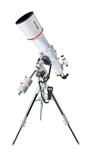 Bresser Messier Télescope AR-152L/1200 EXOS-2 EQ-5 Goto Blanc