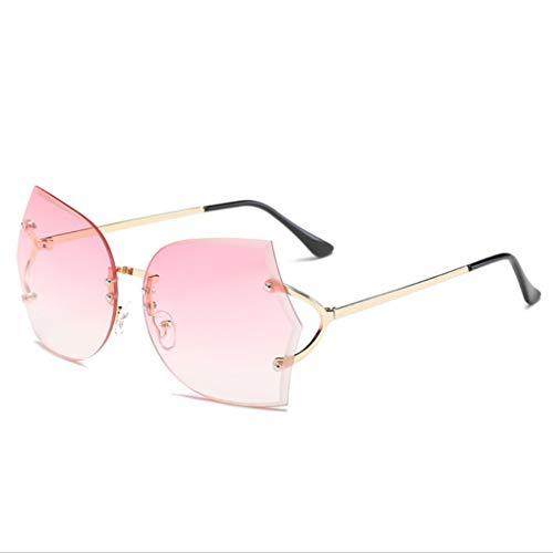 WYJW randlose Sonnenbrillen Europa und die Vereinigten Staaten Mode Marine Brillen Brillen Damen Sonnenbrillen