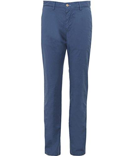 Gant Uomo Pantaloni Slim Fit estate UK 32R Uragano Blu