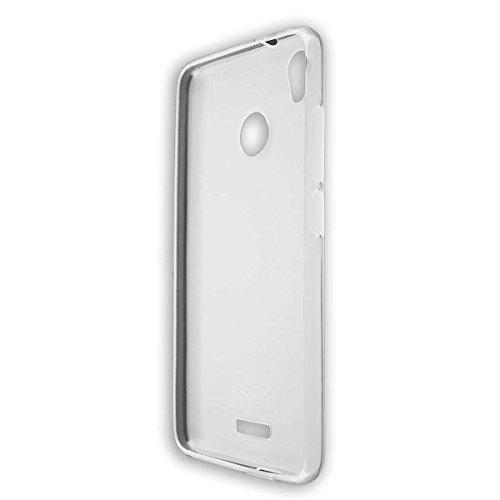 caseroxx TPU-Hülle für Gigaset GS270 / GS270 Plus, Tasche (TPU-Hülle in weiß-transparent)