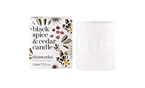 This Works Schwarz Spice & Cedar Candle 220g