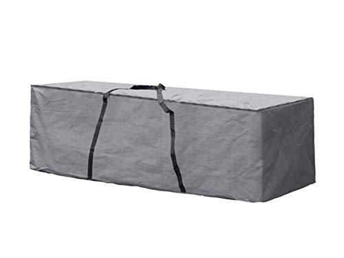Perel Garden OCLCB Schutzhülle Für Lounge-Kissen - XL, Schwarz, 200 x 75 x 60 cm