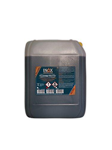INOX® Wheel Star Felgenreiniger, 10 Liter - Säurehaltiges Konzentrat entfernt starke Verschmutzungen wie Flugrost und Bremsstaub