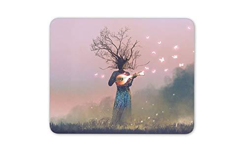 Fantasie-Geschöpf auf Banjo Mousepad Pad - Schmetterlings-Kunst-Geschenk-Computer # 14021 (Banjo Geschenke)