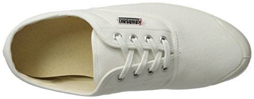 Kawasaki Rainbow Step Basic, Baskets Basses Mixte Adulte Blanc - Blanc