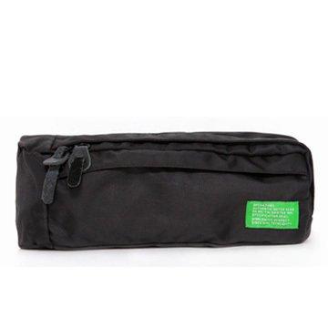 Slim Wasser Widerstand Sportliche Travel Taille Tasche schwarz - schwarz