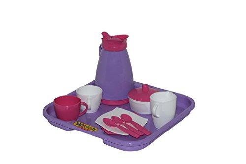 Polesie 40589 - Kaffeeservice Girls, 12-teilig