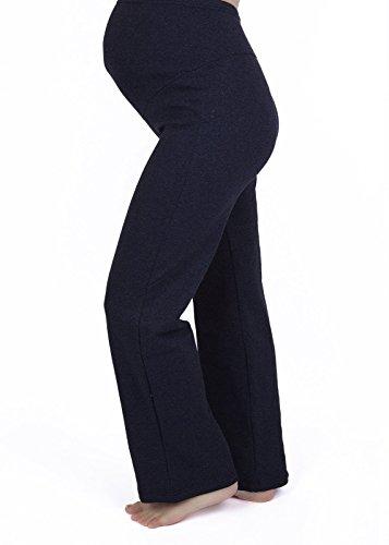 Mija - Pantalon de maternité décontracté et confortable pour yoga Over Bump 3010 Bleu marin
