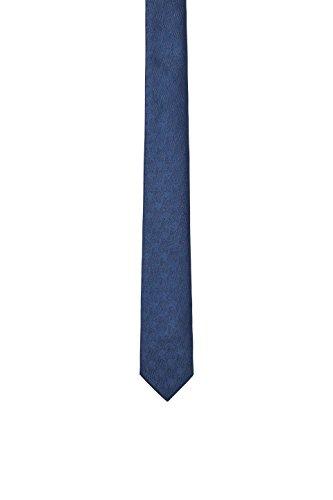 ESPRIT Collection Herren Krawatte 088EO2Q001, Blau (Navy 400), One Size (Herstellergröße: 1SIZE)