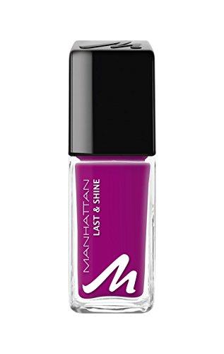 Manhattan Last & Shine Nagellack, Nr.340 Magnolia Love, 1er Pack (1 X 10 ml)