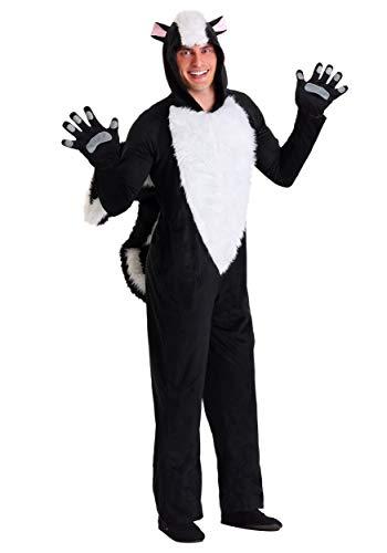Adult SLY Skunk Fancy Dress Costume X-Large