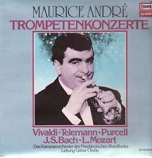 Maurice Andre - Trompetenkonzerte - Europa LP Vinyl, 12' 33 ? RPM