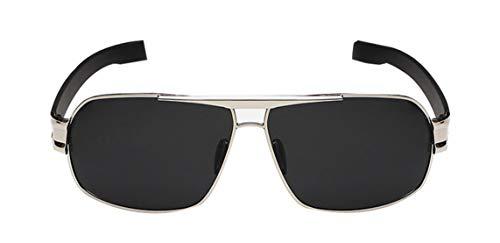Deaman Herren Flach Spiegelgläser Anti UV Eyewear Beschichtung Quadratisch Polarisierte Sonnenbrille Driving Brille