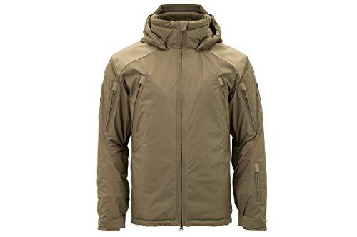 Carinthia MIG 4.0 Jacket 2019 - Winddichte, Wasserabweisende Winter-Jacke dick gefütterte, Ultra leichte Thermo-Jacke mit Kapuze (Coyote, XL)