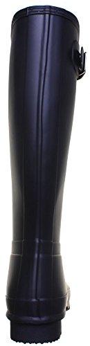 Hunter Org grand homme pour bottes en caoutchouc Noir - Black jxl