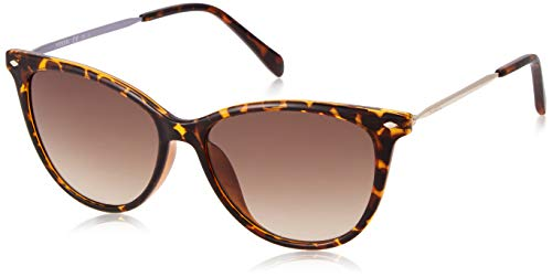 Fossil Damen Fos 3083/S Sonnenbrille, Mehrfarbig (Dkhavana), 54