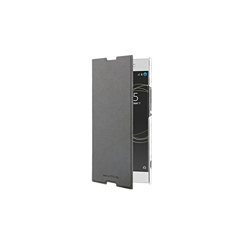 28034a76a43d4 Roxfit- Funda con tapa Libro para Xperia XA1 Ultra- Negro