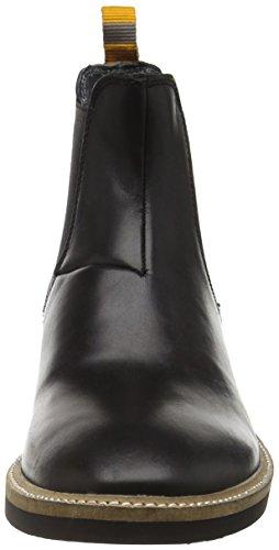 Frank Wright Hazelburn, Bottes Classiques homme Noir - Noir (cuir noir)