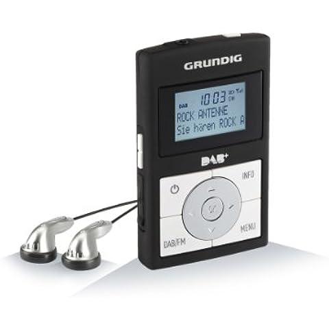 Grundig Micro 75 DAB Radio Portatile, Nero/Bianco - Nero Radio Dab