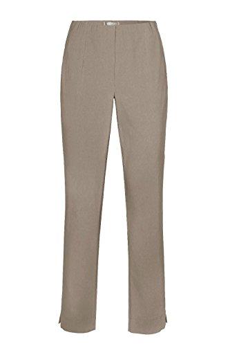 INA 740 von Stehmann Stretchige Damen Schlupfhose Hoher Bund, Farbe:Bambus, Grösse:50 (Hoch Knie Bambus)