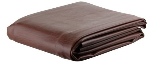 Brown Leatherette Pool Table Cover - 8 Foot by DongGuan Shanglun Sports Equipment Co., LTD