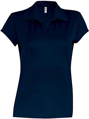 Kariban Proact -  Polo  - Maniche corte  - Donna blu navy
