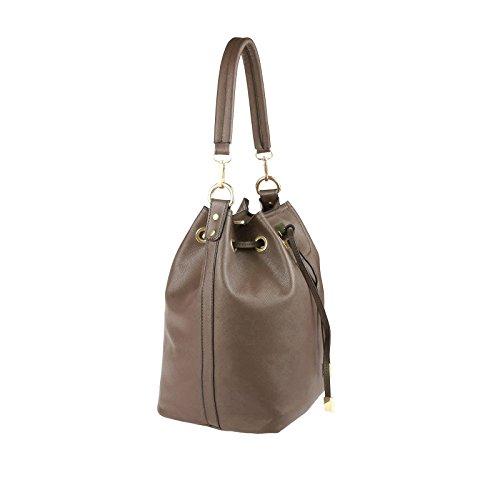 OBC Only-Beautiful-Couture, Borsa a mano donna beige talpa ca.: 40x29x18 cm (BxHxT) talpa