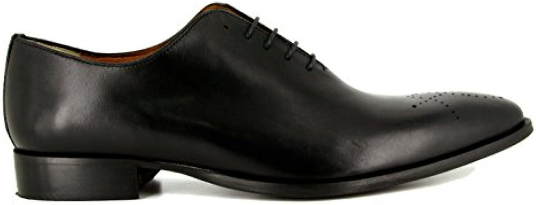 J.Bradford - Zapatos Hombre Richelieu JB-DALMAS Negro