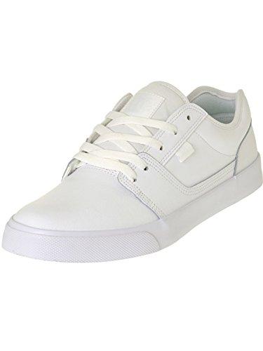 DC ShoesTonik - Scarpe da Ginnastica Basse Uomo , bianco (Blanc (Pristine/Angora)), 40,5 UE
