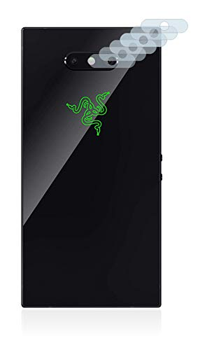Savvies Schutzfolie für Razer Phone 2 (Kamera auf der Rückseite) [6er Pack] - klarer Displayschutz