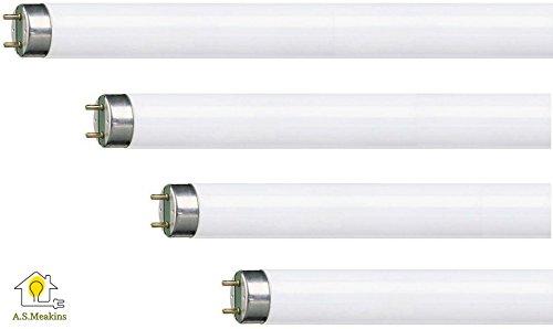 Ersatz-Leuchtröhren für Vermatik 30W Insektenfalle, 4 Stück F15T8BL368 - Bl Glühbirne