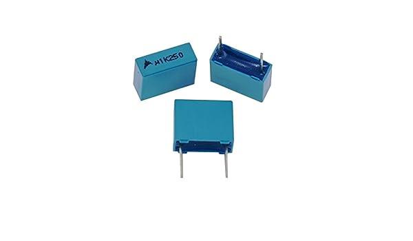 5; b32524q8105k; 1uf 5x mkt-condensador radial 1µf 630v DC; rm27