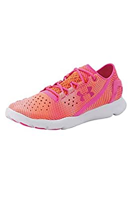 Under Armour UA W Speedform Apollo Pixel, Chaussures de Course Femmes - Orange - Orange (CBO 831), 36 EU