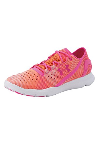 Under Armour UA W Speedform Apollo Pixel, Damen Laufschuhe, Orange (CBO 831), 36.5 EU (3.5 UK)