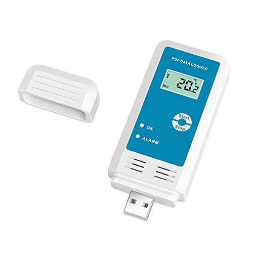 Tree-on-Life Temperatur Luftfeuchtigkeit Recorder LCD IP54 Wasserdichte USB Datenlogger Tester Detektor Thermometer Hygrometer Meter