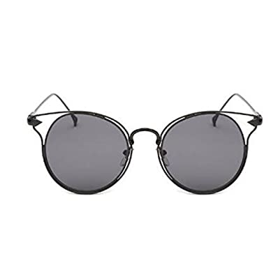 MYLL New Pfeil Art Und Weise Höhlt Lady Sonnenbrille Klassische Wilde Reflective Trendy Brille Sonnenbrille