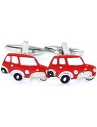 Gemelolandia - Gemelos de coche mini (rojo) , color rojo y plata
