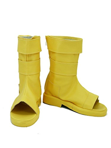 Fuman Naruto Hyuga Hinata cosplay Schuhe Boots Damen Schwarz 39 Ninja-1