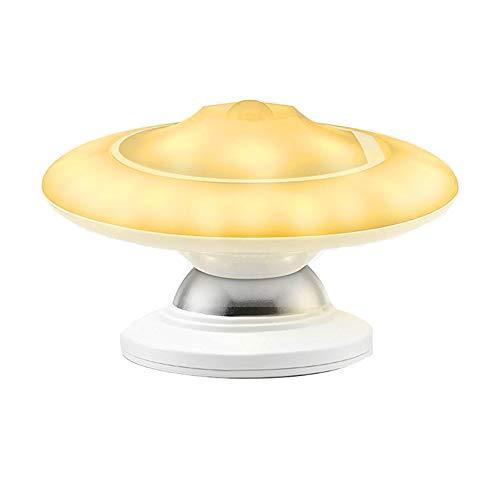 Bewegung Nachtlicht, DAREN&KIWI USB wiederaufladbare LED Infrarot menschlichen Körper Induktion Lampe mit 360 Grad-Drehung für Schrank, Flur, Pathway, Korridor, Hauseingang, Keller und Zimmer Licht - Breite Körper-sicherheits-schrank
