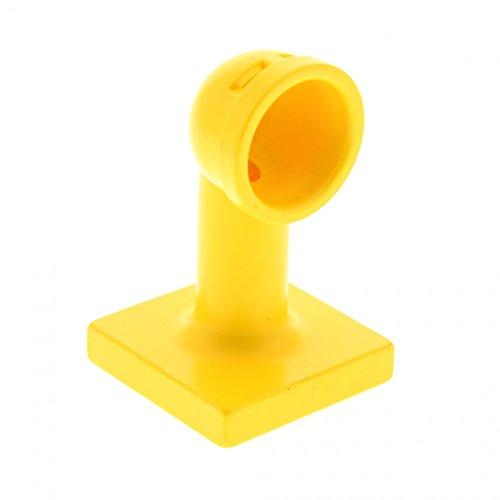 1 x Lego Duplo Boot Zubehör Lüftung Rohr gelb Periskop See Rohr Schiff Boat Air Vent Set 1041 2649 4655 (Air-vent-rohr)