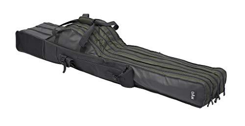 D-A-M Dam Rutentasche gepolstert mit DREI Fächern, Länge von 1,10m - 1,90m wählbar, aus 100% Polyester, Modell 2019 (Länge 1,50m)