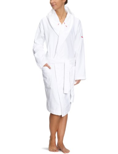 Puma Damen Bademantel Foundation, White, L, 819436 01