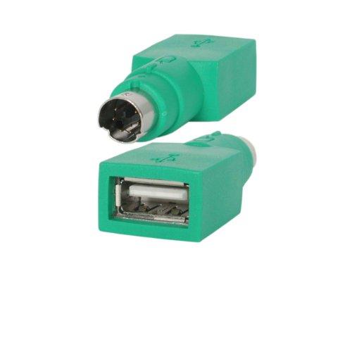 StarTech.com Ersatz-USB-Adapter für Maus zu PS/2, Stecker/Buchse (Ps 2 Usb Maus-adapter)